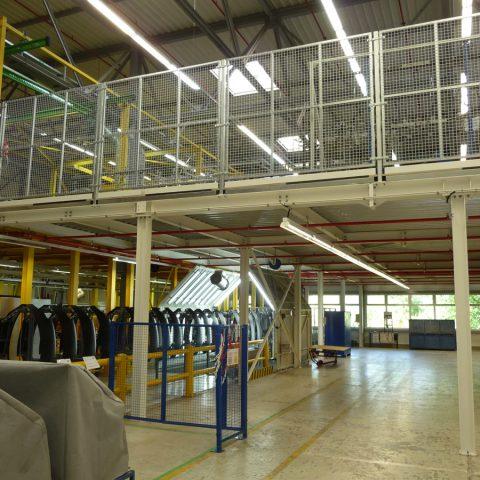 Plateforme de production – industrie automobile