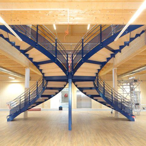 Escalier double – magasin Krämer